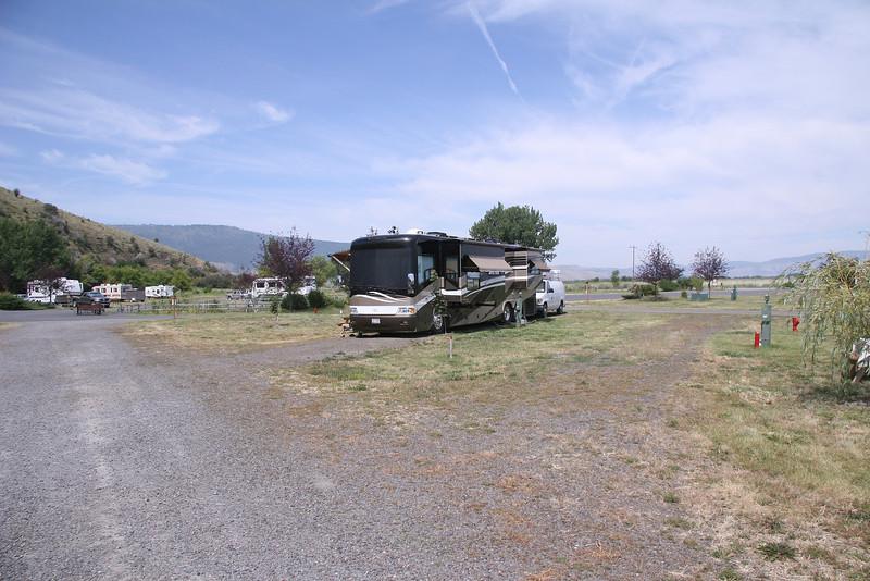 Eagles Hot Lake RV Park - 7/17/2009 in La Grande, OR