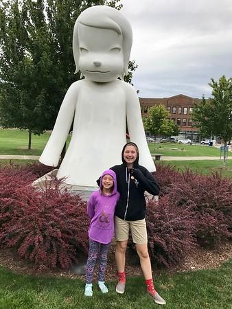 Downtown Des Moines sculptures