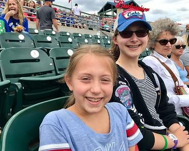First minor league baseball game, Go Cubs!