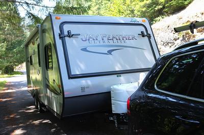Camping Diamond Lake July 2012