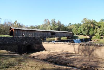 Camping - Watkins Mill Bridge State Park October 2012