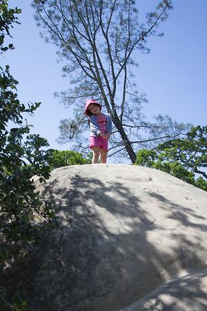 Camping at Mount Diablo - May 3, 2014