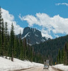 Near Cameron Pass in Colorado