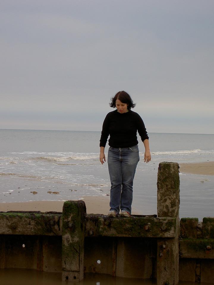 Dani on the beach
