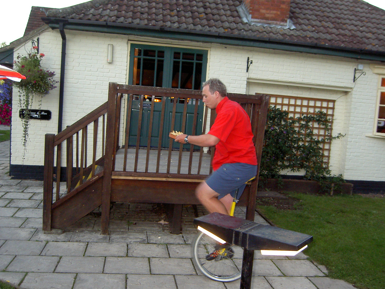 Chips and Unicycle