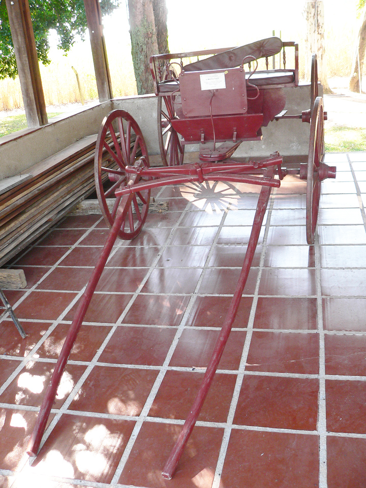 A buggy (trolley) - a gift to the Campo.