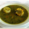 Watercress soup - Sopa de berros