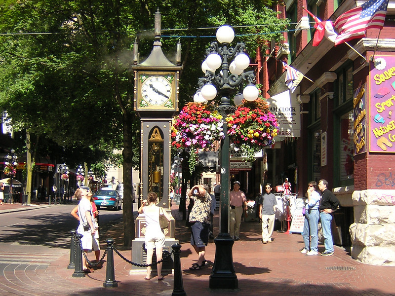 Gas Town, Vancouver