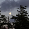 Near full moon in Novascotia