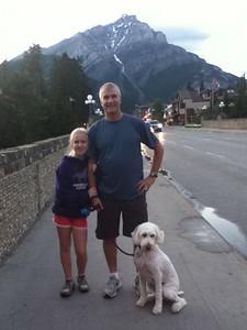 10:00 pm in Banff