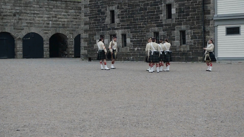 Canada 2013 - July 10 - Halifax - The Citadel video #1
