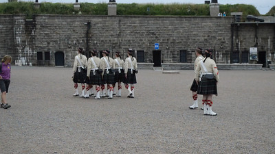 Canada 2013 - July 10 - Halifax - The Citadel video #5