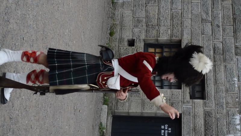 Canada 2013 - July 10 - Halifax - The Citadel video #3