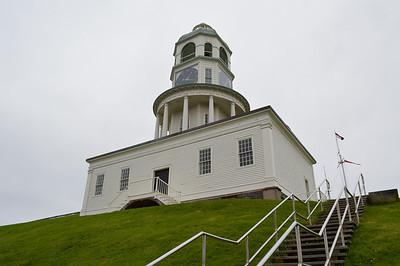 Canada 2013 - July 10 - Halifax - Clock tower at The Citadel