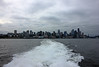 Downtown Seattle from the Victoria Clipper