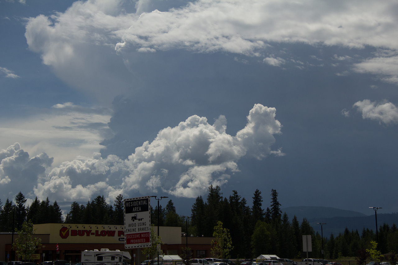Storm Front Mt Robson