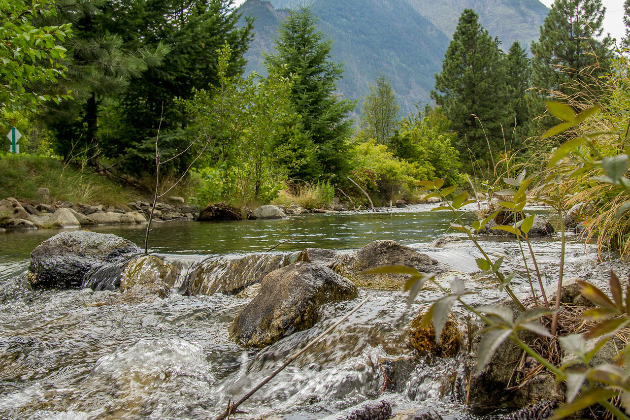 Fraser River, Squamish - Lillooet BC Canada