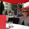 """Enjoying lunch and """"Earls Bar"""" A great eating place."""