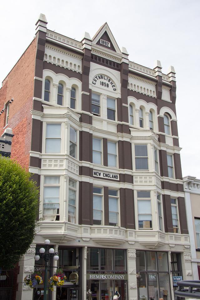 Old Victoria building established  1858