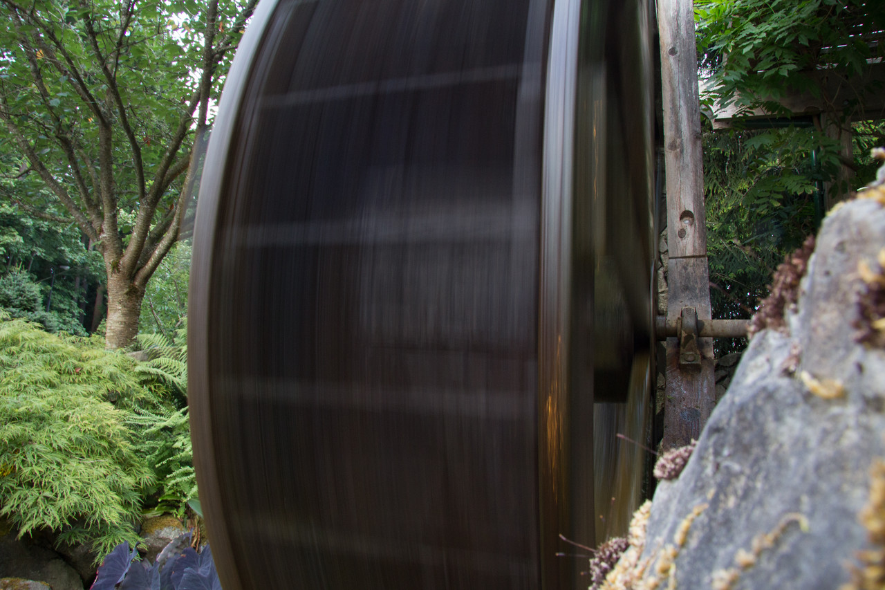 Waterwheel motion
