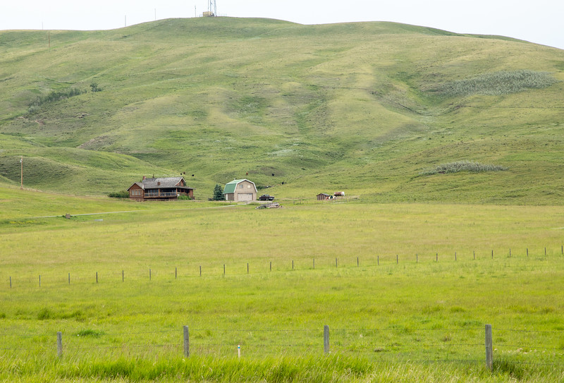 Canadian Ranch Setting
