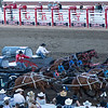 A Wild Event - Chuck Wagon Race - Calgary Stampede