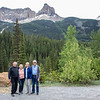 Cousin Reg, Sue, Jan, and Photographer Jim - Spiral Tunnels Area, British Columbia, Canada