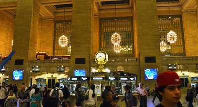 The main lobby of Grand Central Terminal.