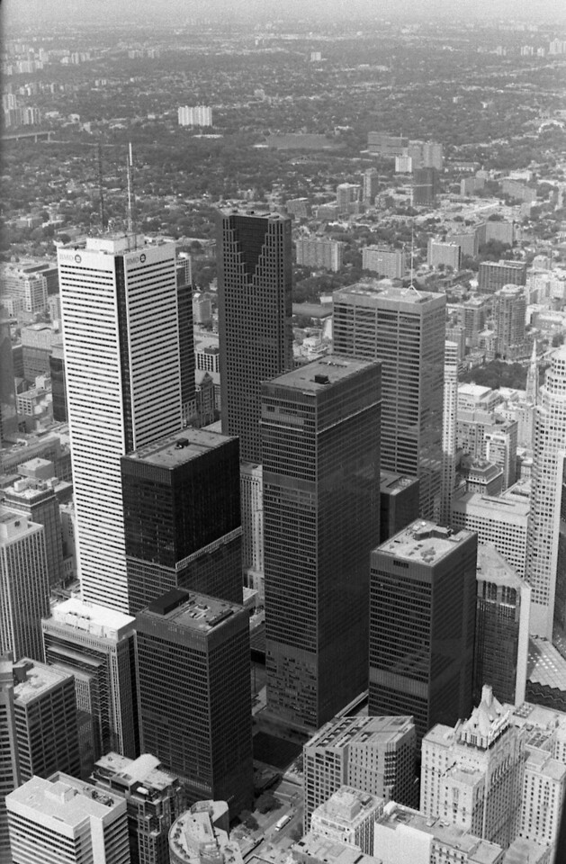 From the CN Tower