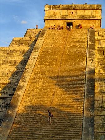 Eug & me on the top of El Castillo
