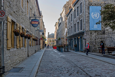 A Scene in Quebec City