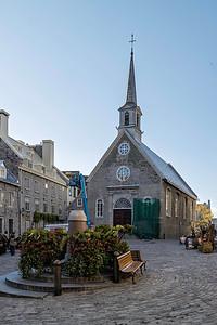 Notre-Dame-des-Victoires in Quebec City