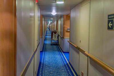 Riviera Deck- Starboard Side
