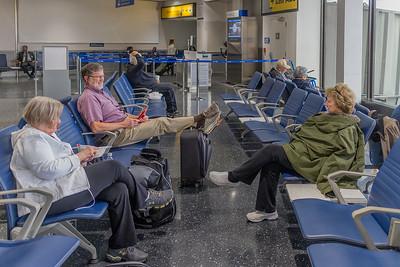 Waiting in Newark Airport