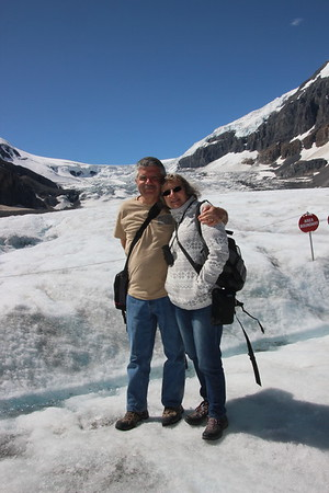 Day 6 - Athabasca glacier walk