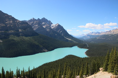 Day 6 - Peyto Lake, Bow Lake and Num-ti-jah