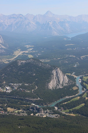 Day 7 - Banff - Sulphur Mountain, Bow River falls, Hoodoos