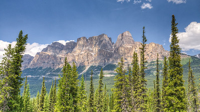 Castle Mountain, Bow Valley, Banff