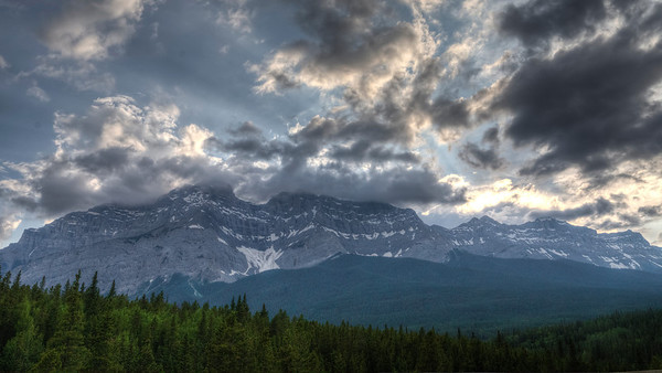 Cascade Mountain Sunset