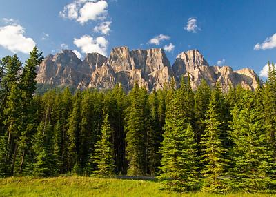 Castle Mountain, Bow Valley