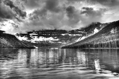 Cameron Lake B&W