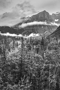 B&W Heaven's Peak
