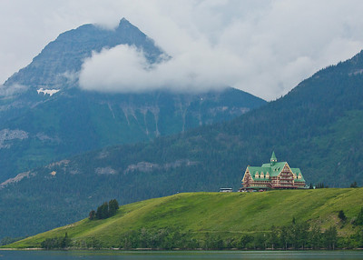 Prince of Wales Hotel. Waterton Canada