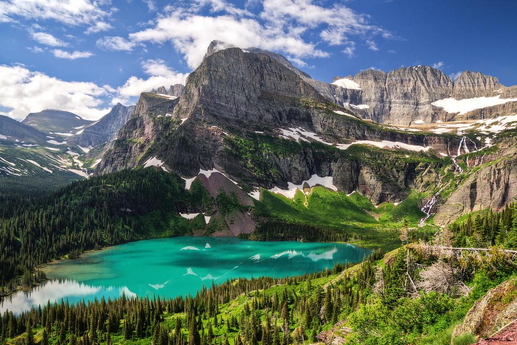 Grinell Glacier Lake