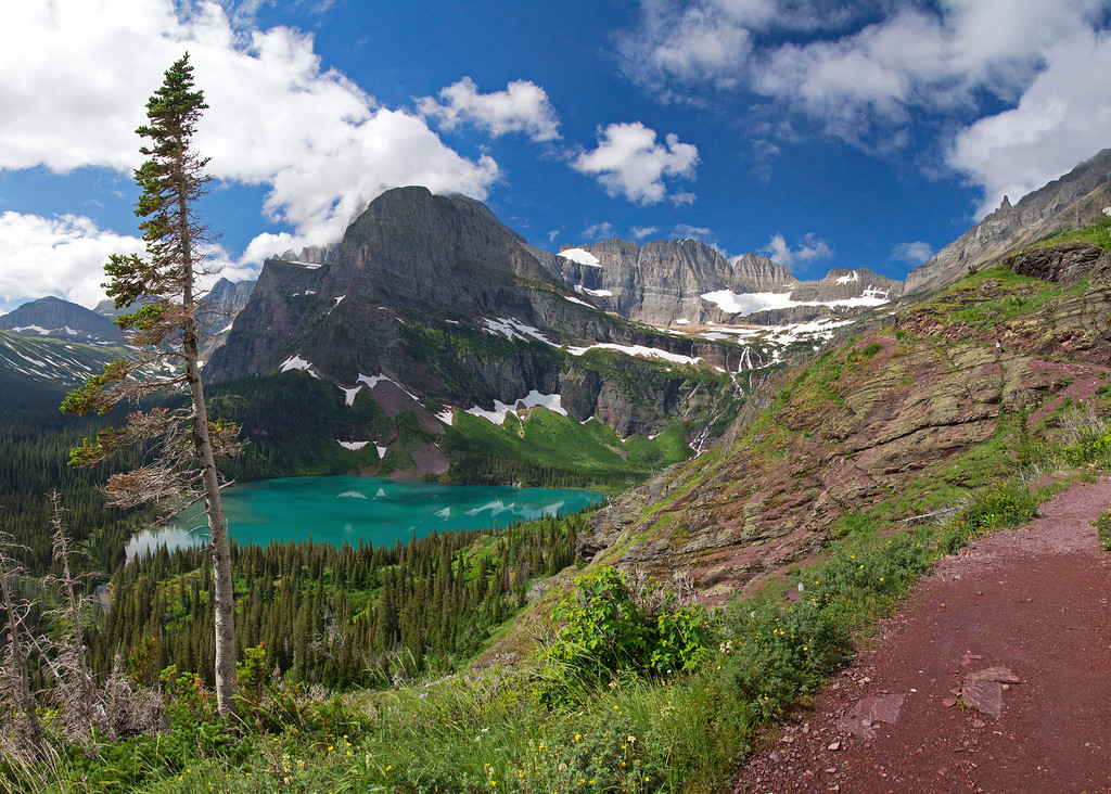 Grinell Lower Lake, Pano 83-87