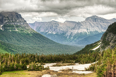 View at Logan Pass