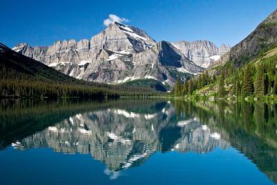 Josephine Lake Mt. Gould