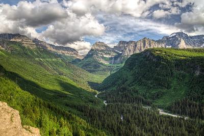 McDonald Creek valley