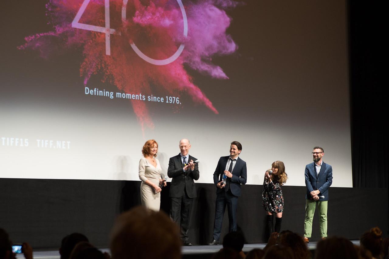 The Meddler Premiere - Susan Sarandon, JK Simmons