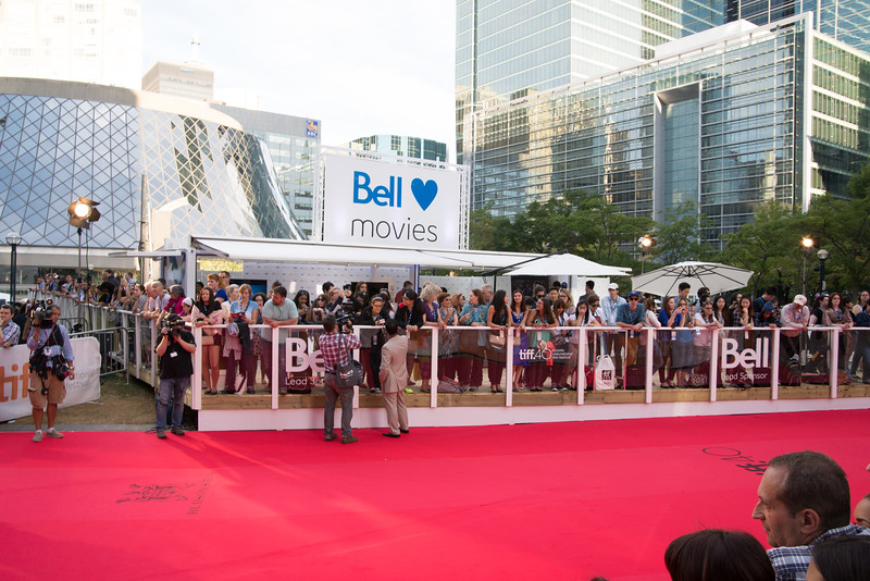 Preperations for the first Red Carpet - Demolition
